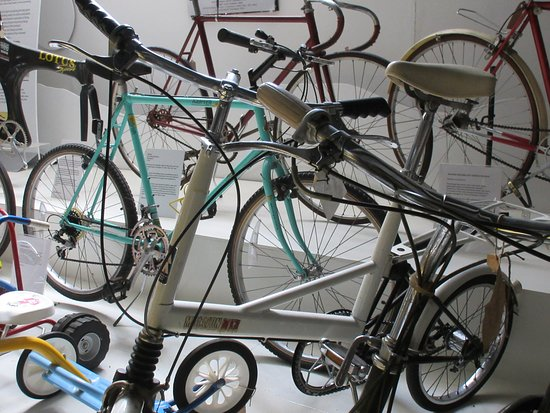 Nottingham, UK: A tiny selection of the historic and sentimental bicycles in our collection