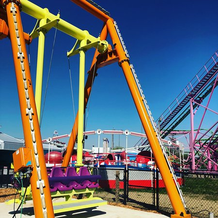 The Funplex: All New Happy Swing Ride great for the younger kids!