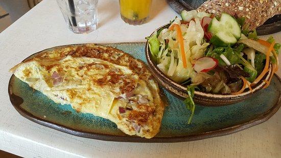 Cafe Gan Sipur: חביתה
