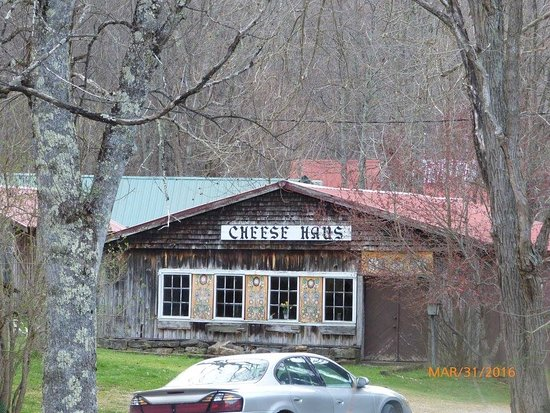 Helvetia, Δυτική Βιρτζίνια: Cheese Haus