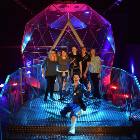 The Crystal Maze LIVE Experience, Manchester: Will you start the fans please!