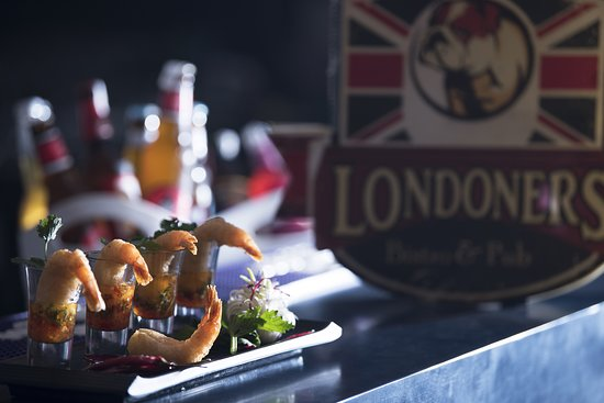 Londoners Bistro & Pub: Prawns