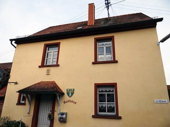 """Former Monastery Grunau: Rathaus at """"Zur Kartause 1 Schollbrunn"""""""
