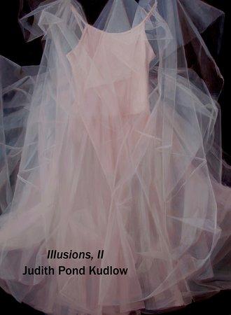 "Essex, CT: ""Illusions, II"" by Judith Pond Kudlow, oil, 30 x 40"""