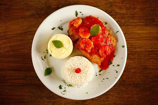 Pousada Sitio Da Prainha: Jantar incluso