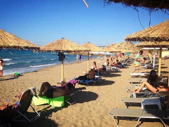 Aptera Beach Resort: on the beach