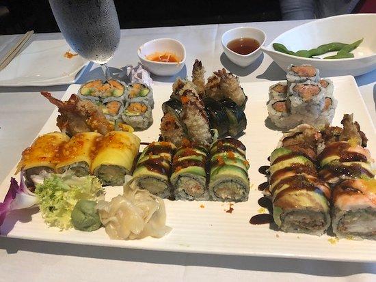 Millburn, NJ: Sushi - variety