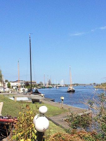 Koudum, The Netherlands: vanaf terras