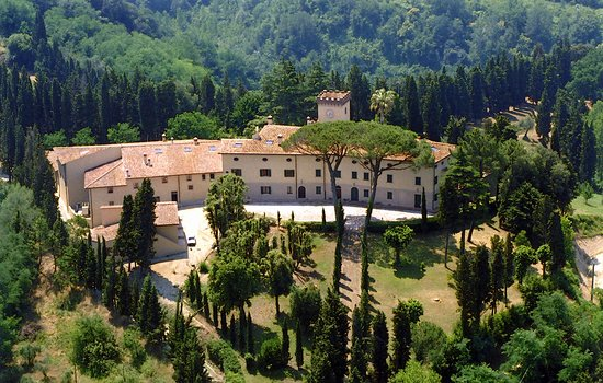 Palaia, Italia: La Villa di Usigliano, cuore della Tenuta Usiglian del Vescovo