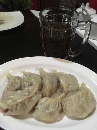 Tibet Kitchen: Steamed Mutton Momos..