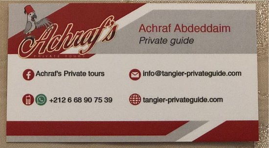 Achraf's Private tours