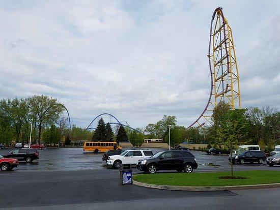 Πάρκο Αναψυχής Cedar Point: Top Thrill Dragster