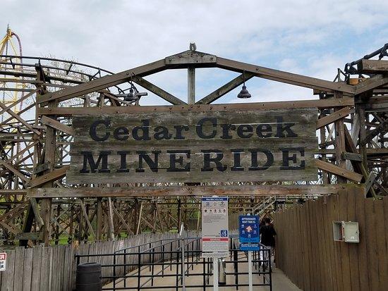 Πάρκο Αναψυχής Cedar Point: Cedar Creek Mine Ride (Coaster)