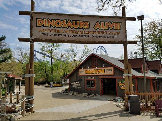 Πάρκο Αναψυχής Cedar Point: Dinosaurs Alive