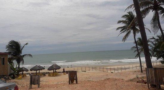 Lagoinha: vista da praia
