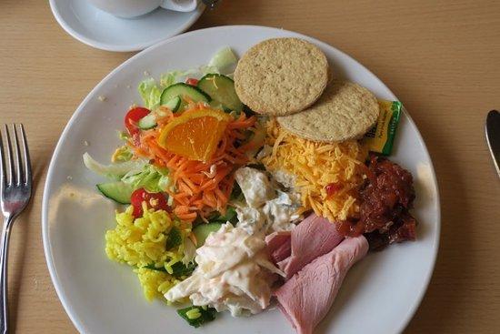 Port Logan, UK: Ploughman's salad
