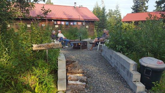 Kasilof, อลาสกา: Community Fire Pit