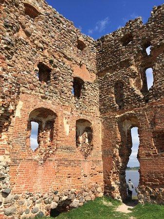 Ludza, Latvia: Part of Castle ruins