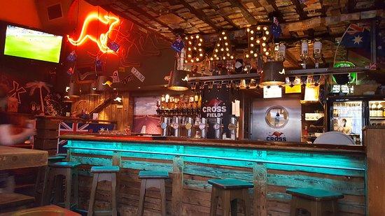 bar area - Picture of Crossfield\'s Australian Pub, Vienna - TripAdvisor