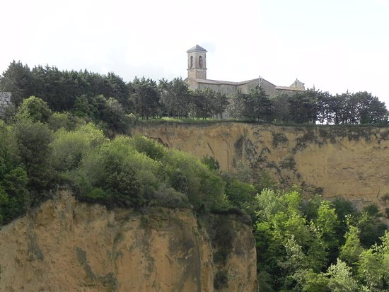 Volterra, Italien: balze