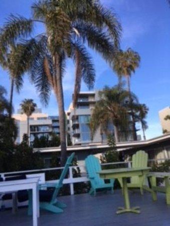 Seaview Hotel: Roof Top Terrace