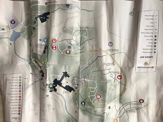 Winterthur Map