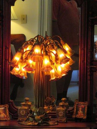 Bellingrath Gardens and Home: lamp