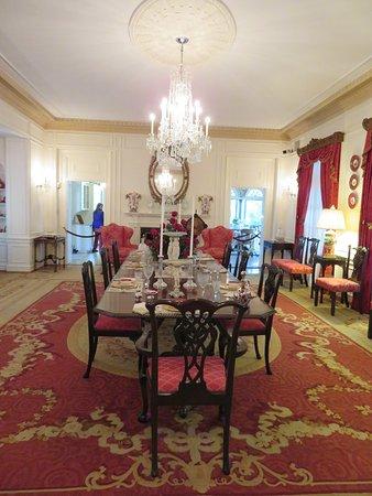 Bellingrath Gardens and Home: formal dining room