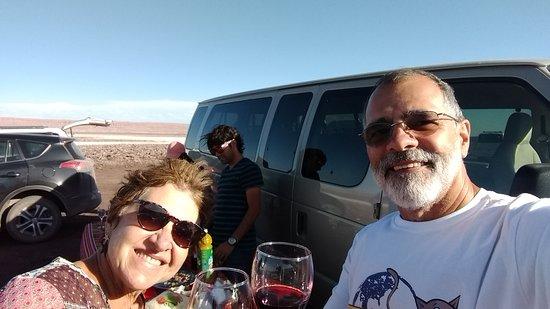 Coquetel Araya Atacama passeio Lagunas Escondidas