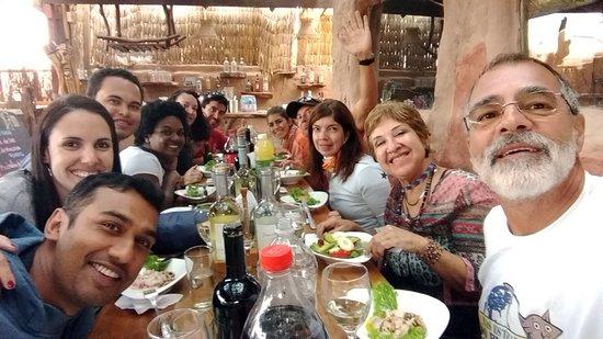 Jantar promovido pela Araya Atacama