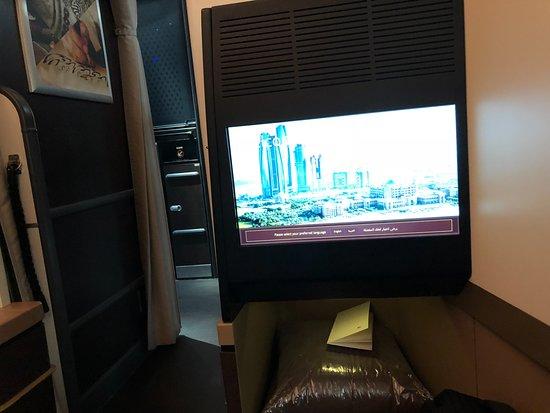 Etihad Airways: The terrific Seat