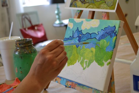 J. F. Mazur Studio: Adult painting lessons in acrylic, oil and watercolor. Beginner to advanced.