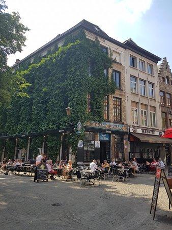 Elfde Gebod: Exterior del restaurante.