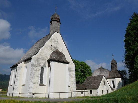 Oberstdorf, Germany: Josef's and Mary's chapel