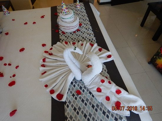 Sandos Playacar: We were celebrating my birthday and 35th wedding anniversary!