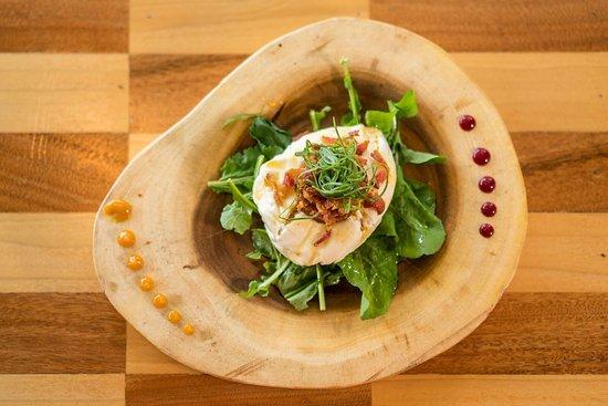 Alta Vista Restaurant: Burrata Criolla 2.0