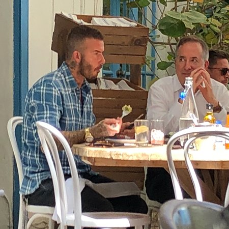 Mandolin Aegean Bistro : A Hotspot to eat with vip - David had a good time at Mandolin