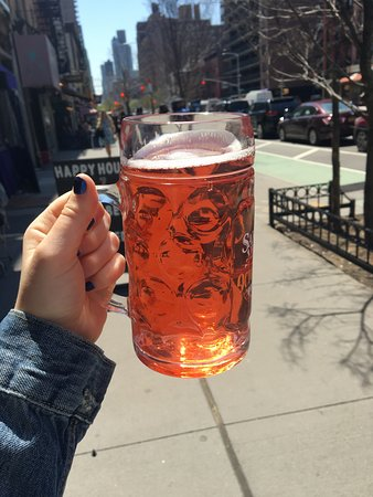 Duke's: Rose Cider From Our Self Pour Beer Wall