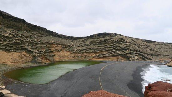 El Golfo, إسبانيا: Green lagoon