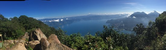 Lake Atitlan: Views atop the volcano