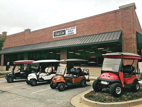 Bulldog Golf Carts new club car store open in Peachtree City ... on beach cart rentals, fork lift rentals, golf carts for rent,