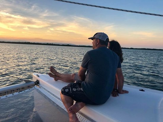 Nautical Adventures Belize: The moment the sunset!