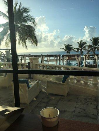 Hyatt Zilara Cancun: View from the new coffee shop!