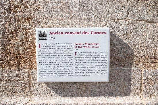 Circuit Intra-Muros: couvent des carmes