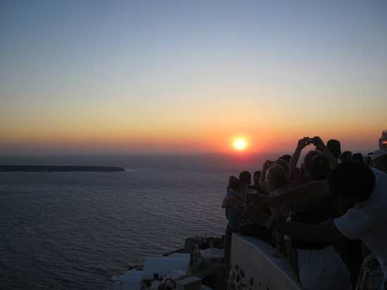 Sunset in Oia: tramonto oia