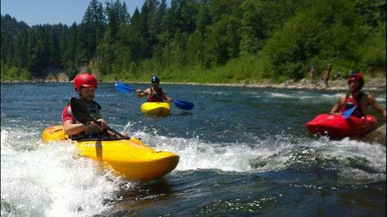Sandy, Oregon: stout creek outfitters kayak trips