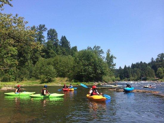 Sandy, Oregon: stout creek outfitters kayak rentals