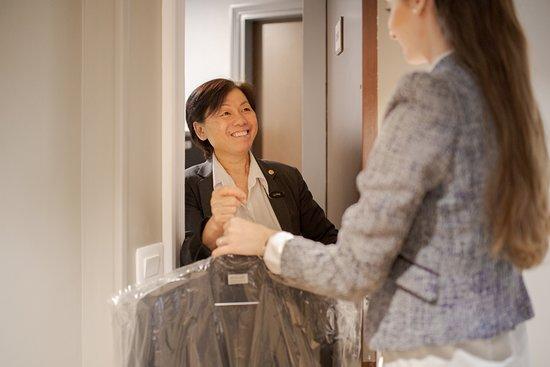 Aparthotel Fraser Suites Harmonie Paris La Defense: Laundry service