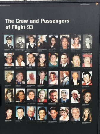 Stoystown, PA: The Crew and Passengers of Flight 93.