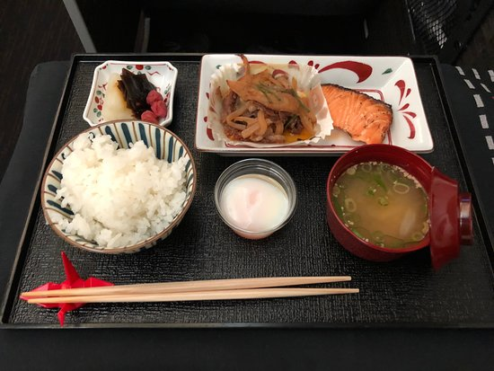 Japan Airlines (JAL): My main of lunch